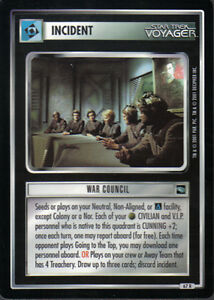 Star Trek CCG Voyager Rare Cards