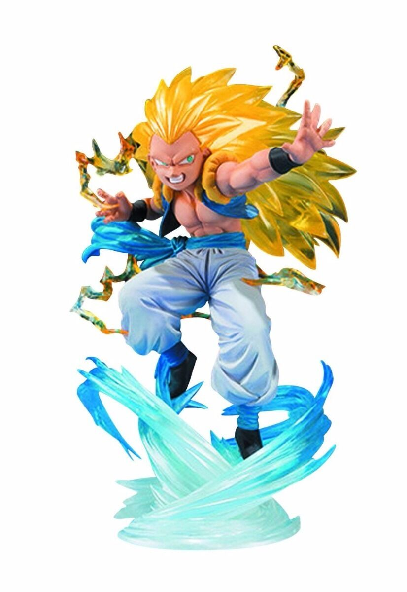 Dragon Ball Z Tamashii Nations Figuarts Zero Super Saiyan Gotenks Action Figure