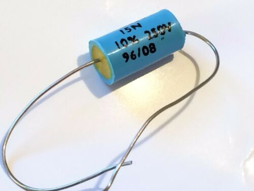 15nF 250V LCR MOULDED POLYSTYRENE AXIAL  CAPACITOR                      fbb29.20