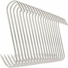 Meat Hooks 20pcs 5 Inches Stainless Steel Butcher Hooks For Meat Processing