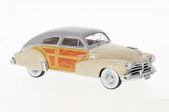 Chevrolet Fleetline  Aerosedan  gris Beige bois  1948 (Neo 1 43   45833)  pour pas cher