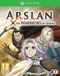 Arslan-les-guerriers-de-legende-pour-Xbox-One-NEW-amp-SEALED