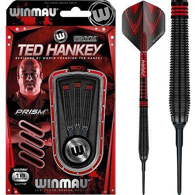WINMAU Mervyn King Black Onyx Darts 90/% Tungsten Softdarts 18g