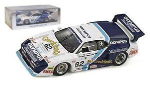 Spark S1586 Bmw M1 # 62 Le Mans 1982 - O'rourke / maçon / bas 1/43 Échelle