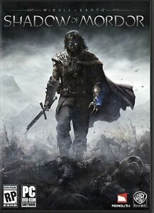 MIDDLE-EARTH-SHADOW-OF-MORDOR-PC-NEUF