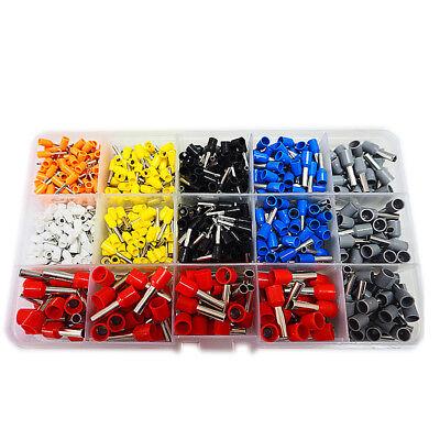 Unique 0.25-6 mm2 Bootlace Ferrule Terminal Crimping Tool/&dual wire ferrule kit