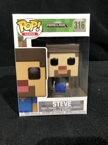 FUNKO POP NEW MINECRAFT: Steve GAMES #316