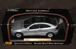 Maisto-Diecast-Special-Edition-Mercedes-Benz-C-KLASSE-SPORTCOUPE-C200-1-18-Scale