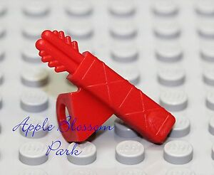 NEW-Lego-Ninjago-Minifig-RED-ARROW-QUIVER-Kingdoms-Warrior-Swordsman-Neck-Gear