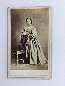 Victorian-Carte-De-Visite-CDV-Lady-Cann-Tiverton