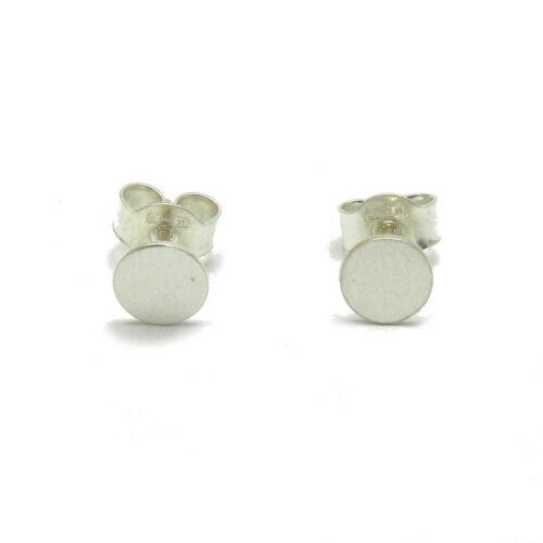 Kleine sterling silber ohrringe kreise  925 Empress E000670
