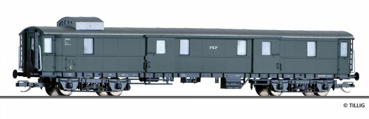 HS TILLIG 13396 Express Baggage Car FX the PCP Epoch III