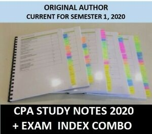 CPA-Financial-Reporting-HD-study-notes-Exam-index-COMBO-2020-PDF-EXCEL