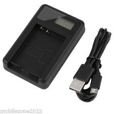 Camera battery Charger ENEL-14 & USB Cable NIKON COOLPIX D5100 P7000 P7100 P7700