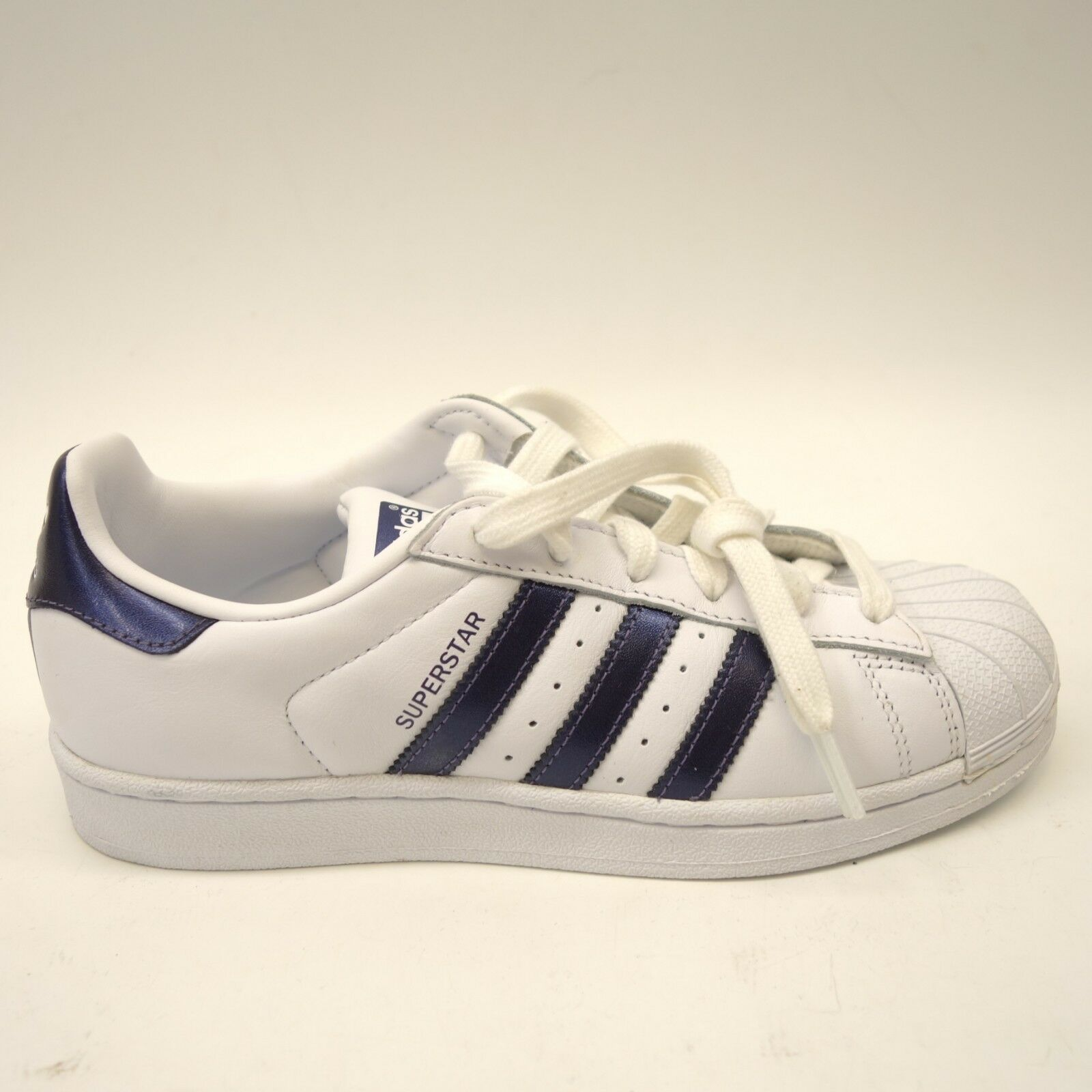 Adidas donna  Originals Superstar W CG5464 bianca viola Metallic scarpe Dimensione 6.5  colorways incredibili