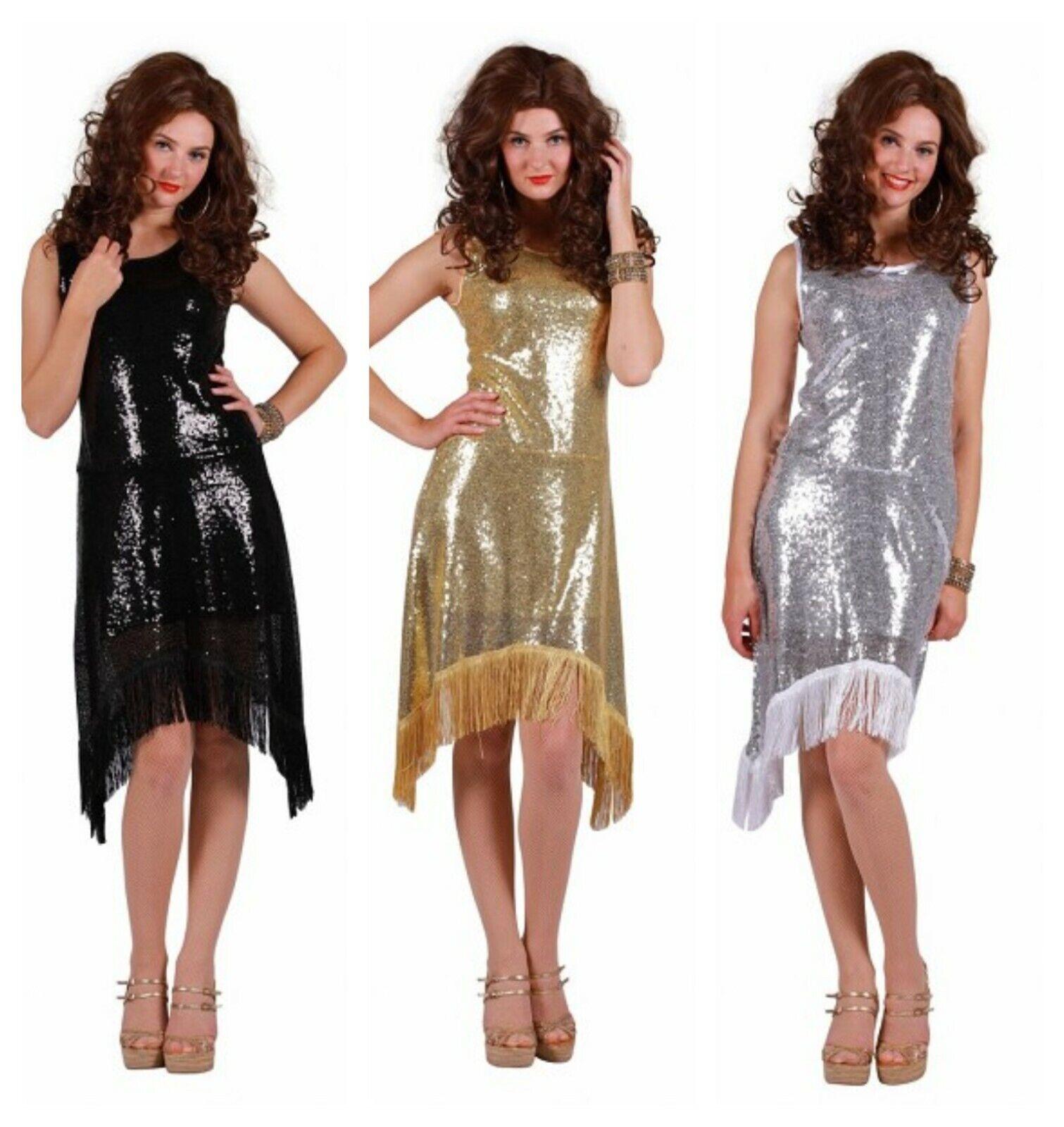 Sequinned Show Dress - 20's / Bond Girl etc
