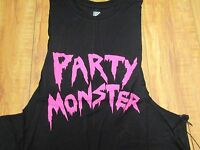 Iron Fist Athletic 'party Monster' Women's Black Tank Size: S Small
