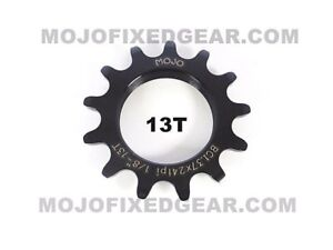 PURPLE ANODIZED Cro-Mo TRACK 13 TOOTH 1//8 INCH CNC MOJO 13T FIXED GEAR COG