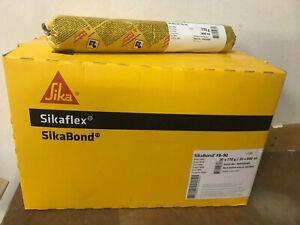 €/L= 16,50, Sikabond FB-90 grau, 600ml, Polyurethan Sikaflex Stripe Fugenbänder