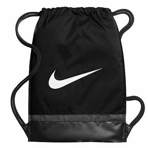fc04aa1736f5 Details about Nike Gymsack Brasilia 6 Drawstring Gym Sack Football Kit Team  Training PE Bag