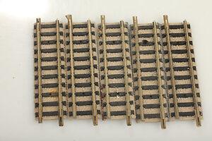 FLEISCHMANN, N piccolo 9103 5 Rail droit 55,5mm boue/défaut/dé<wbr/>montage ! FA14