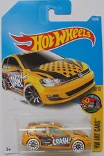 2017 Hot Wheels HW ART CARS 6/10 Volkswagen Golf MK7 16/365 (Int. Card)