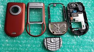 Details about 100% Original Nokia 6630 Housing Set Orange