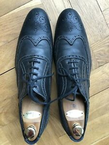 Paul Smith blue leather mens shoes