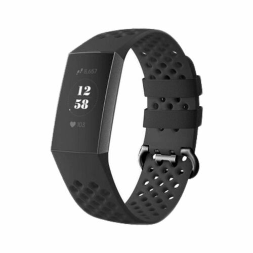 For Fitbit Charge 3 Adjustable Sport Silicone Soft Band Strap Bracelet Wristband