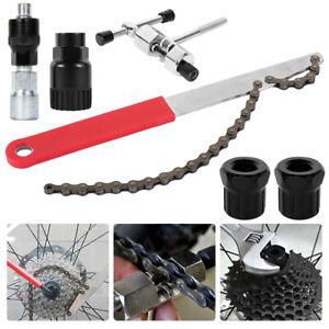 uk Bicycle Bike Freewheel Chain Whip Cog Cassette Sprocket Remover Breaker Tool