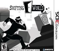 Shifting World - Nintendo 3ds , New, Free Shipping