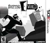Shifting World - Nintendo 3ds , New, Free Shipping