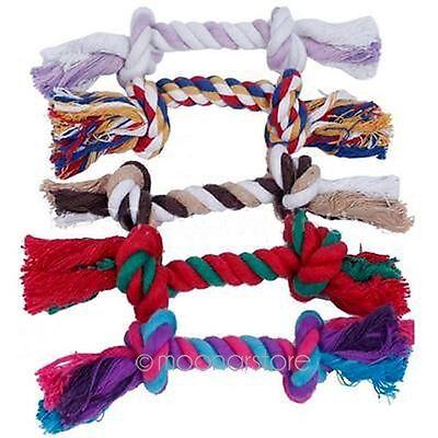 Perro cachorro Cotton trenzado hueso cuerda Chew nudo Artículos para animales