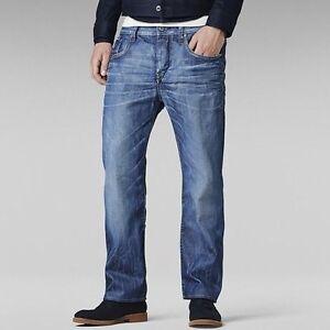 Détails sur G star raw homme defend loose jeans 28