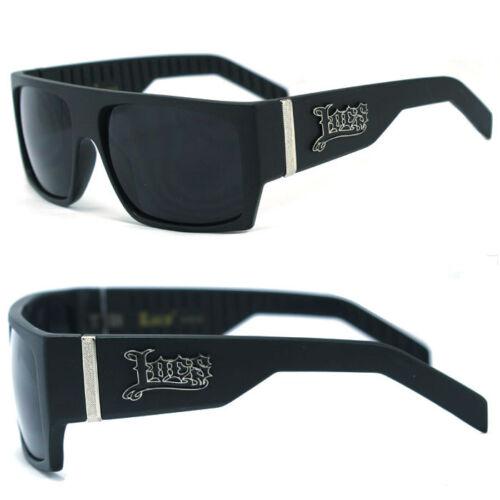Matt Schwarz Lc74 Locs Herren Cholo Biker Sonnenbrille