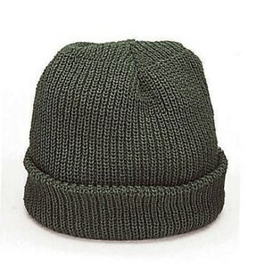 6695e2423bb Foliage Green Military Winter Knit Hat Acrylic Watch Cap Rothco 5453 ...