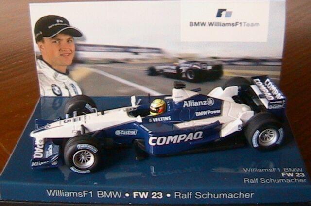 WILLIAMS BMW FW23 R.SCHUMACHER F1 formule 1 #5 Voiture 1//43 MINICHAMPS