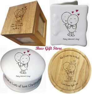 Personalised Fun Novelty Valentines Day Gift Ideas For Him Her Wife