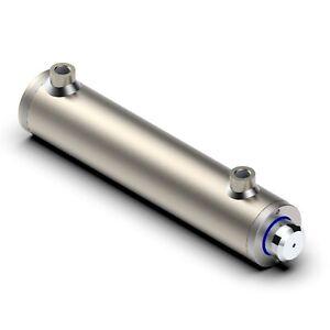 doppeltwirkend ohne Befestigung Hydraulikzylinder 60//40 400 Hub