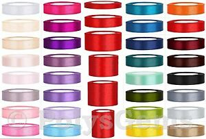 25-METRES-FULL-REEL-SATIN-RIBBON-6MM-12MM-25MM-38MM-50MM-75MM-100MM