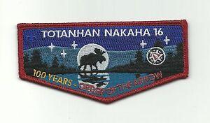 SCOUT BSA OA LODGE 16 TOTANHAN NAKAHA 2008 WINTER BANQUET ARROWHEAD NSC MN PATCH