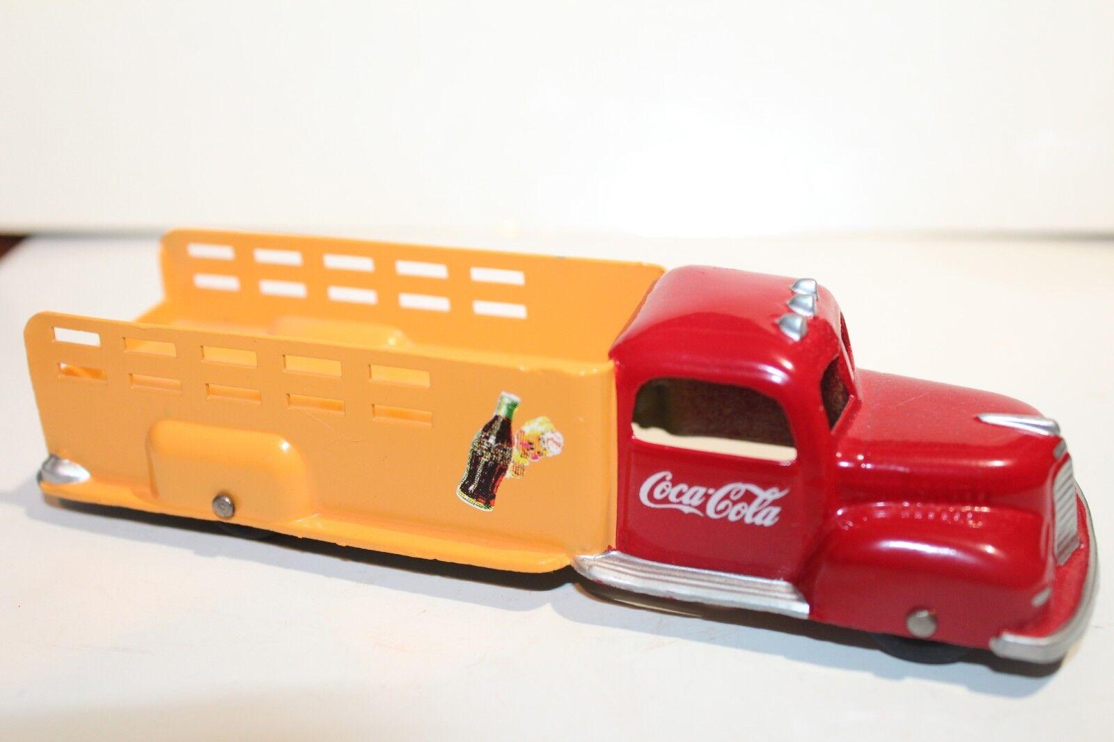 Muy Bonito Tootsietoy a Medida 1940 Internacional K5 Coca Cola Estacas Cuerpo