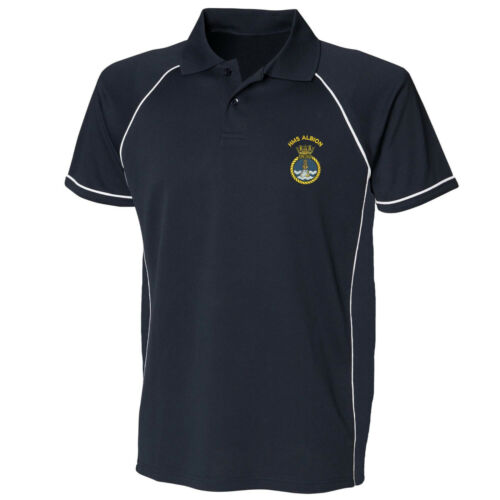 HMS Albion Performance Polo