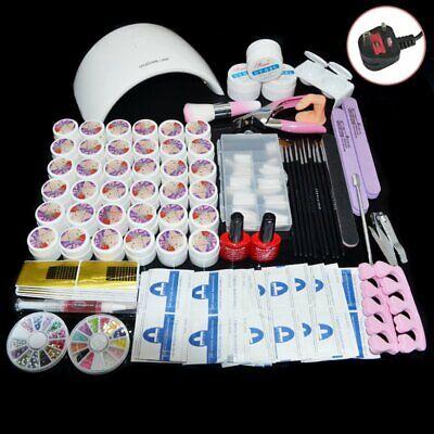 36w uv lamp 36 gel polish curing dryer light acrylic nail