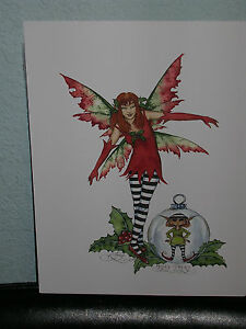 Amy Brown - Holly Faery - OUT OF PRINT- RARE