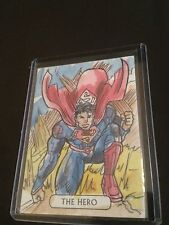 JUSTICE LEAGUE CRYPTOZOIC SUPERMAN TAROT SKETCH BY VINICIUS