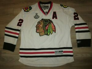 Duncan-Keith-Chicago-Blackhawks-Hockey-Premier-Jersey-2XL-2X-mens