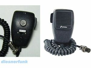 cb funk ersatz mikrofon mit lautsprecher eingebaut stabo. Black Bedroom Furniture Sets. Home Design Ideas