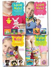 New Magic Loom Rubber Band 4 books set Collection Fantastic activity & projects