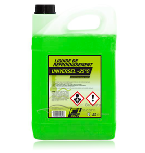 Liquide-de-refroidissement-vert-25-C-Universel-5L-FL-039-AUTO